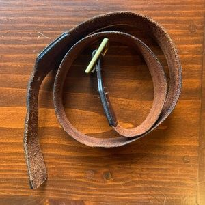 Vintage Coach Belt - Genuine